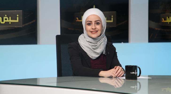 المهندسة هبة الزعبلاوي رئيسة قسم إدارة النفايات الصلبة في وزارة البيئة
