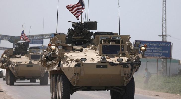 القوات الاميركية في شمال سوريا