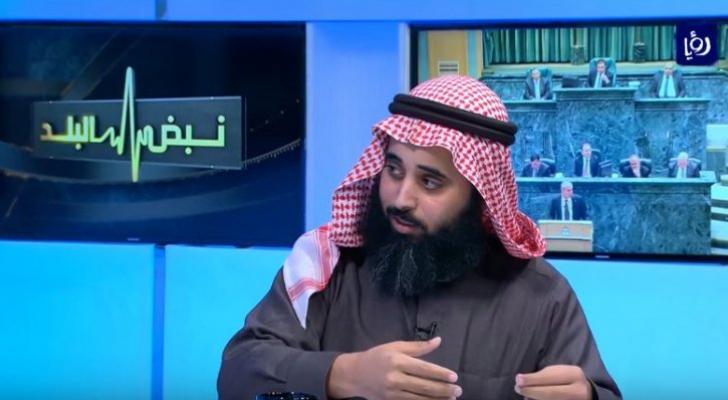 النائب محمد الرياطي اثناء استضافته في برنامج نبض البلد - ارشيفية