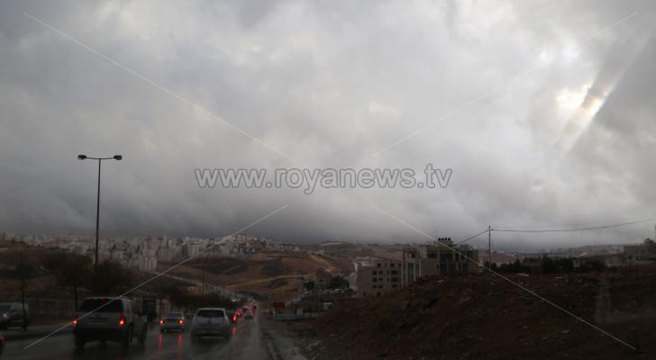 الصورة ارشيفية من العاصمة عمان