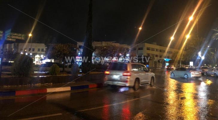 من شوارع العاصمة عمان منطقة عبدون