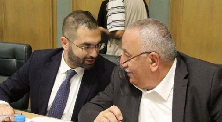 النائبان خالد رمضان وقيس زيادين