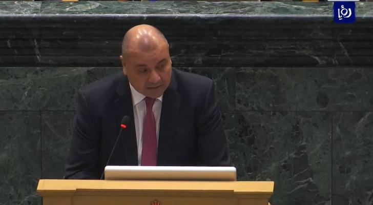 رئيس اللجنة القانونية النائب عبد المنعم العودات