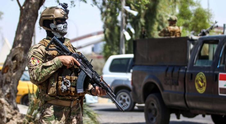 سقوط أربعة صواريخ على معسكر قريب من مطار بغداد