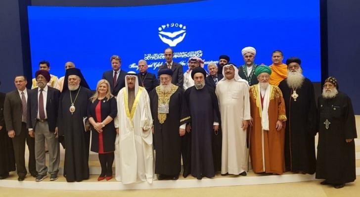 حاخام يهودي يشارك في مؤتمر للأديان بالبحرين