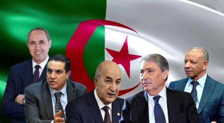 مرشحو الانتخابات الرئاسية في الجزائر