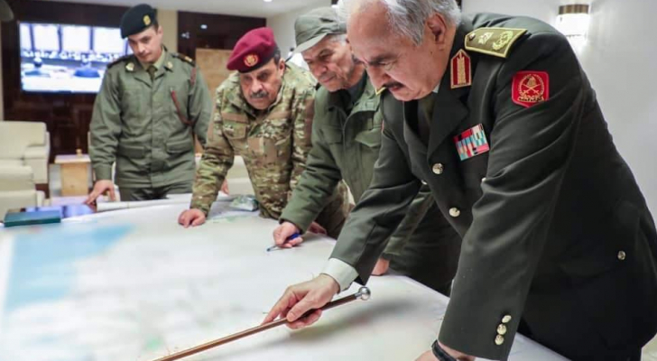 """حفتر يعلن انطلاق """"المعركة الحاسمة"""" للسيطرة على طرابلس"""