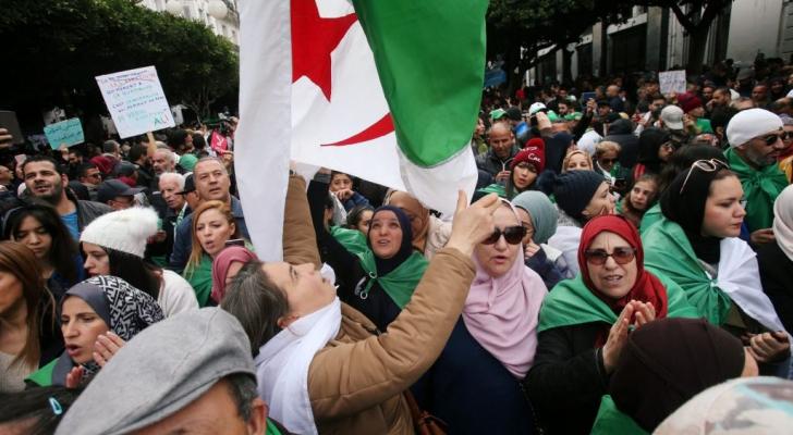 ارشيفية من مظاهرات الجزائر