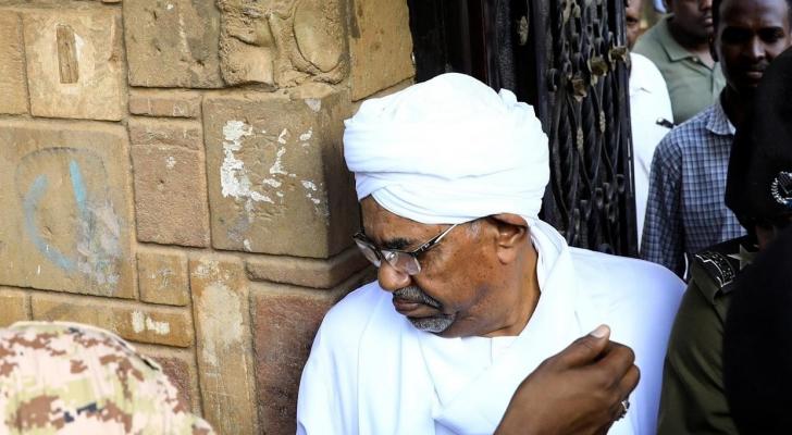 الرئيس السوداني السابق عمر البشير - ارشيفية
