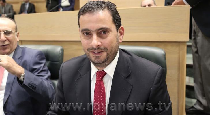 وزير الصناعة والتجارة طارق الحموري - ارشيفية