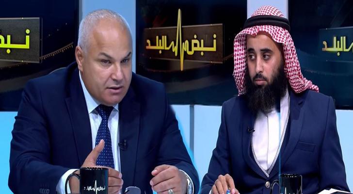 النائبان خالد البكار ومحمد الرياطي