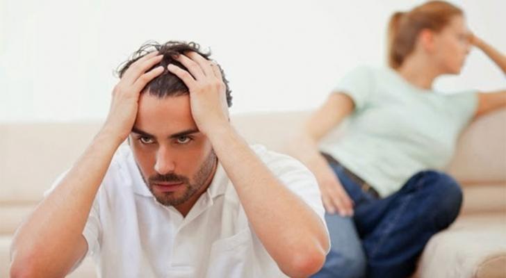 المشاكل الزوجية - تعبيرية