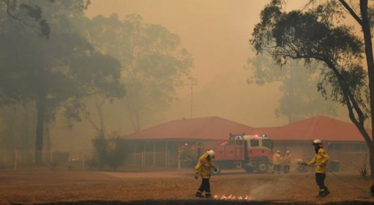 الحرائق مستمرة في أنحاء أستراليا