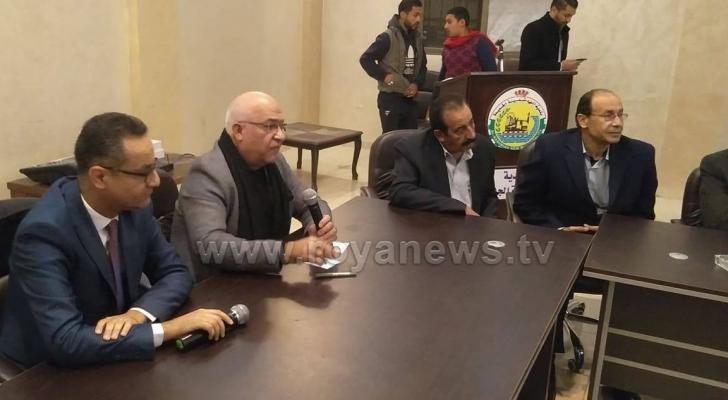 """الوزير المعايطة خلال ندوة حوارية بعنوان """"اولويات الاصلاح في الاردن"""""""