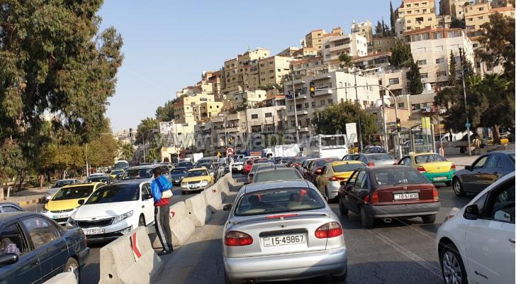 ازمة سير في عمان