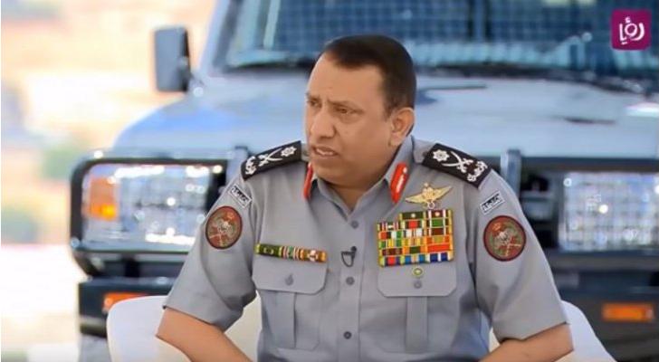 اللواء الركن حسين الحواتمة - ارشيفية