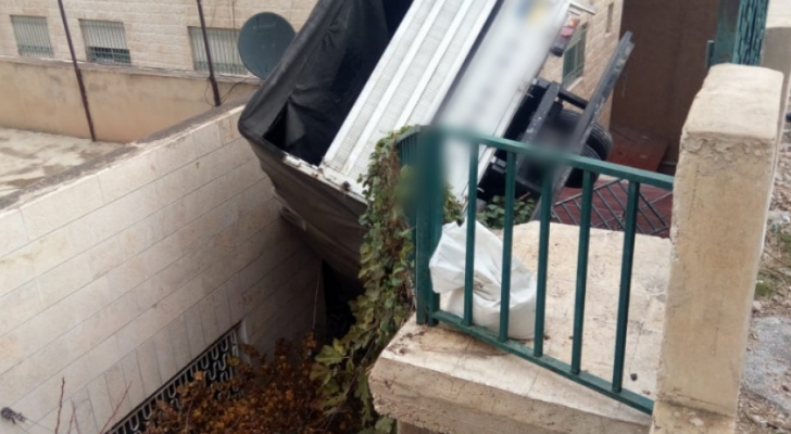 صورة من موقع الحادث