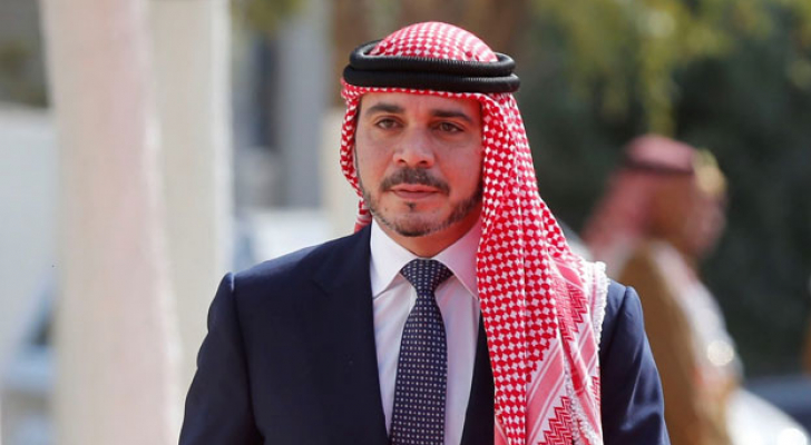 سمو الأمير علي بن الحسين