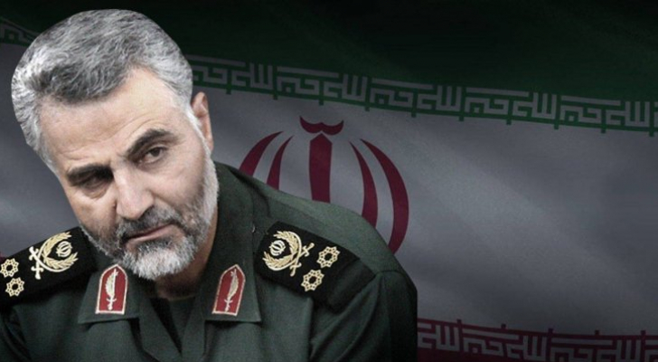 قائد فيلق القدس في الحرس الثوري الإيراني الجنرال قاسم سليماني