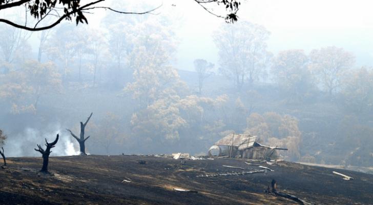 حرائق الغابات في استراليا
