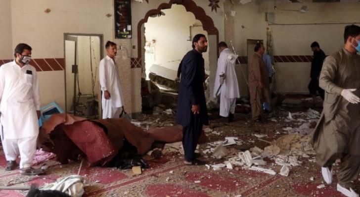 قتلى وجرحى بتفجير مسجد في باكستان