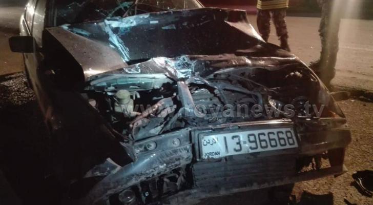 الصورة من الحادث