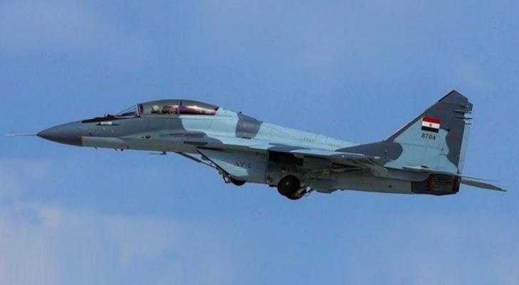سقوط طائرة حربية مصرية أثناء تدريبات ومقتل قائدها