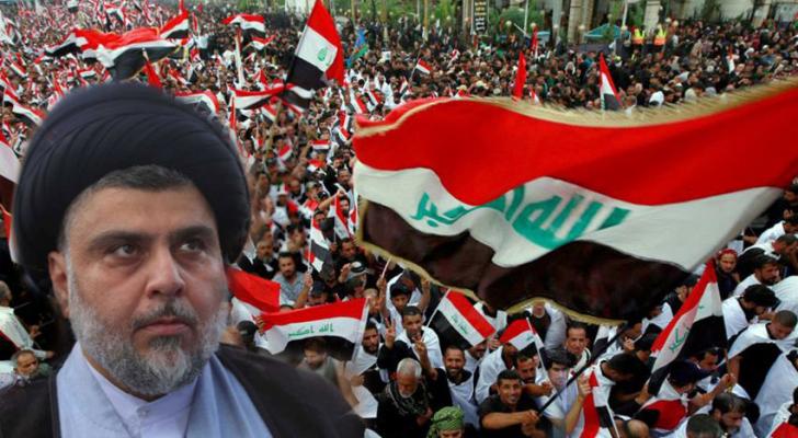 الصدر يدعو إلى تظاهرة مليونية ضد الوجود الأمريكي في العراق
