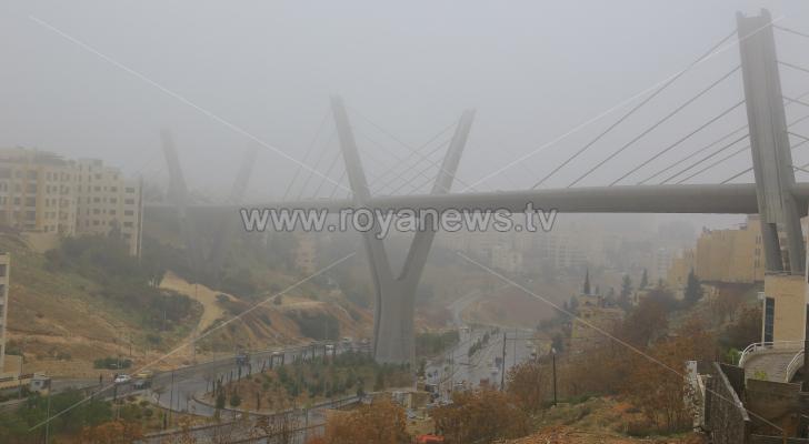 جسر عبدون صباح الجمعة