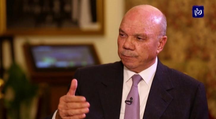 رئيس مجلس الأعيان فيصل الفايز