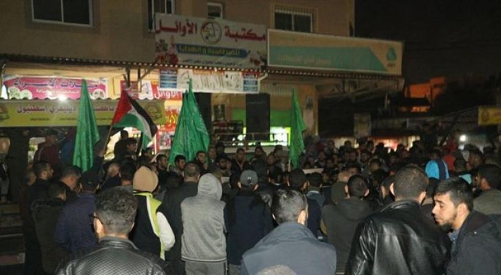 مسيرات حاشدة بقطاع غزة رفضا لصفقة ترمب