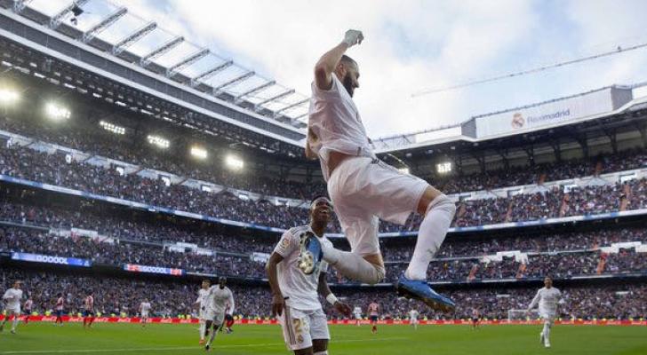 ريال مدريد يحسم الديربي ويواصل صدارة الدوري الاسباني
