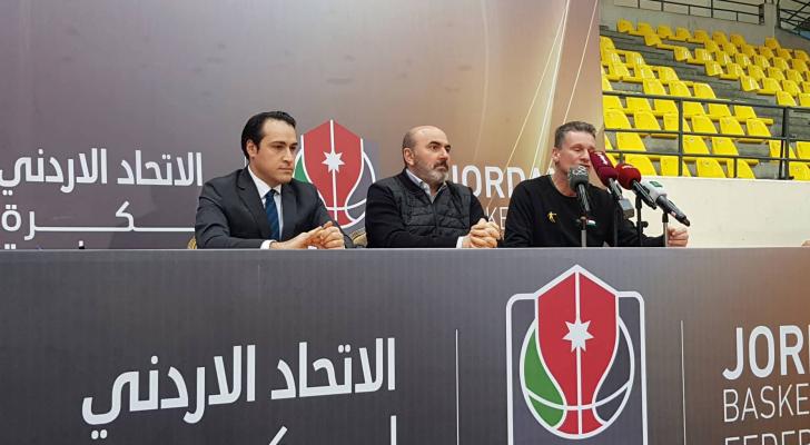 مؤتمر صحفي لاتحاد السلة للحديث عن تحضيرات المنتخب الوطني