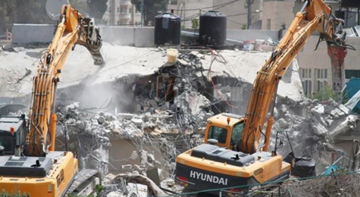 الاحتلال يواصل تهجير حي وادي الحمص في القدس
