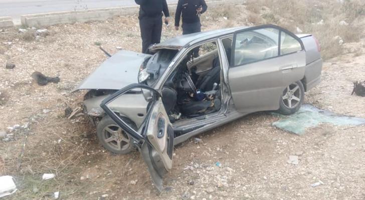 حادث سير في الاردن - ارشيفية