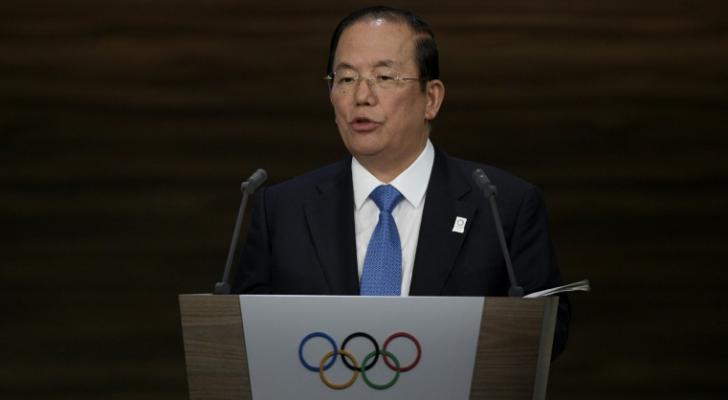 رئيس اللجنة المنظمة لاولمبياد طوكيو 2020 توشيرو موتو