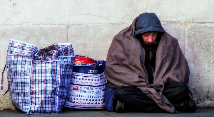 الفقر في بريطانيا