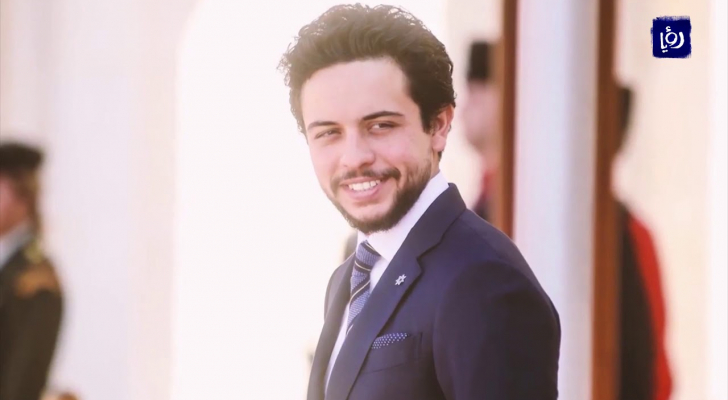سمو ولي العهد الأمير الحسين بن عبدالله