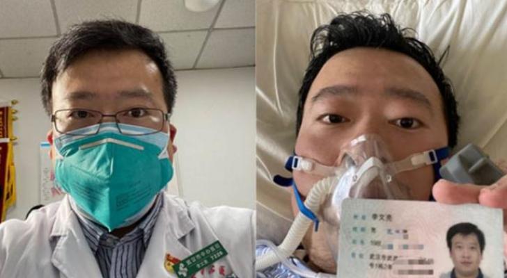 وفاة أول طبيب صيني حذر من فيروس كورونا