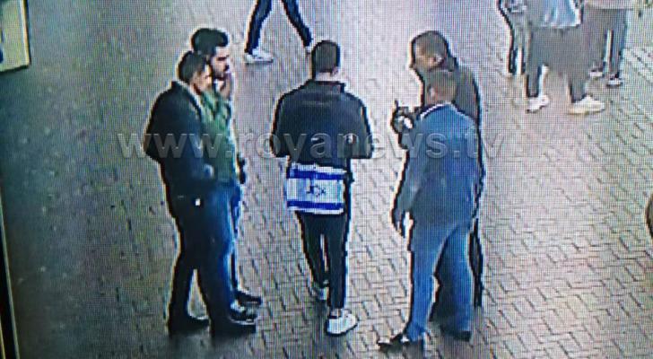 ضبط شخص ارتدى علم الاحتلال في اربد