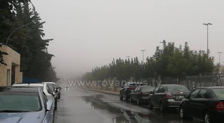 صورة من منطقة المقابلين بالعاصمة عمان