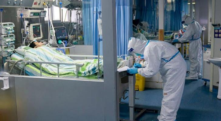 الامريكي أصيب بفيروس كورونا المستجد في ووهان الصينية