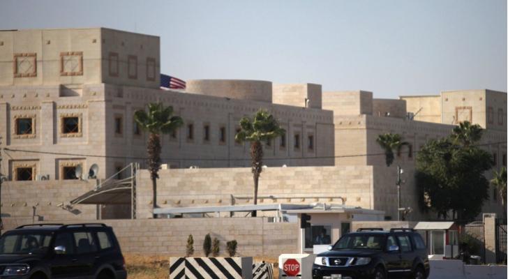 السفارة الأمريكية في عمّان
