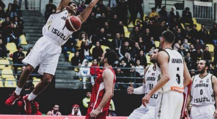 منتخب السلة يواجه نظيره العراقي على صالة الحسن في اربد