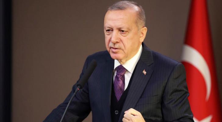الرئيس التركي رجب طيب إردوغان - ارشيفية