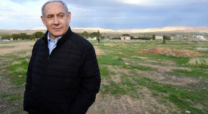 نتنياهو في غور الأردن