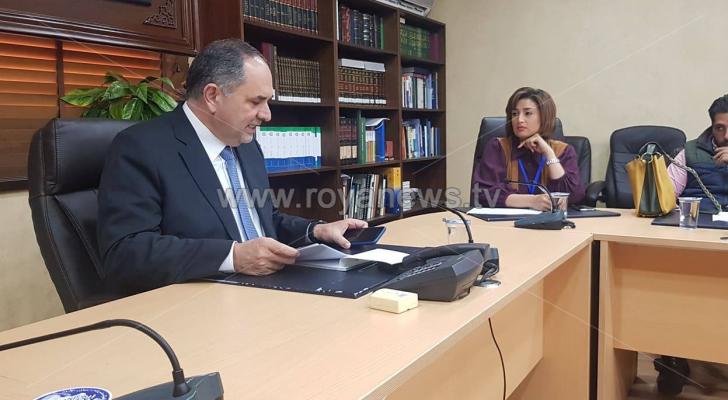 وزير العدل بسام التلهوني