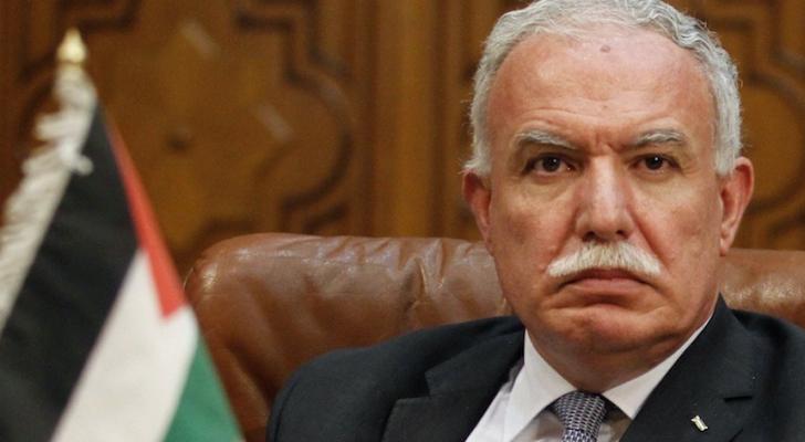 وزير  الخارجية الفلسطينية