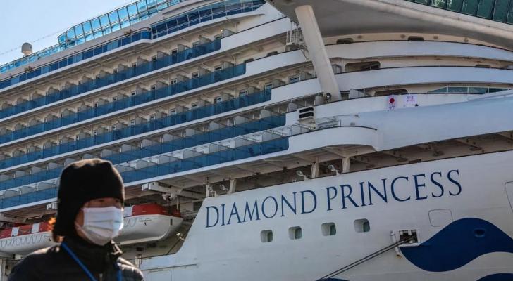 """السفينة السياحية """"دايموند برينسيس"""""""