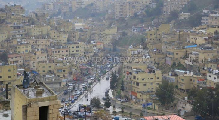 إحدى مناطق العاصمة عمّان